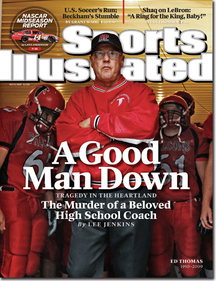 SI Cover Ed Thomas